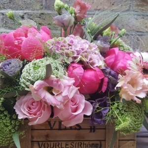 Vintage Box Arrangement