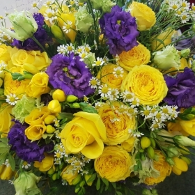 Colourful and Vivid Posy
