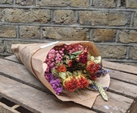 Dried Mixed Colour Flowers