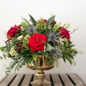 Luxury Rose Bowl Arrangement