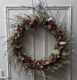 Vintage Door Wreath